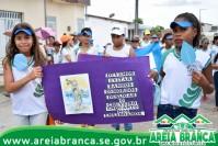 Escola Josefa Inocência realizou caminhada de conscientização
