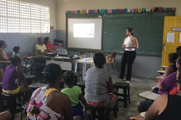 Alimentação Saudável e Qualidade de Vida discutida em sala de aula