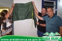 Reinauguração da creche Maria Ribeiro Franco