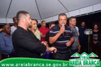 Prefeito Alan entrega pavimentação de ruas do Povoado Pedrinhas