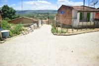 Pavimentação de ruas do Povoado Pedrinhas