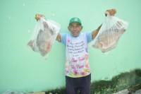 Prefeitura de Areia Branca distribui peixe da Semana Santa para 3 mil famílias