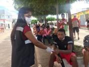 COVID-19: Prefeitura distribui máscaras na sede da cidade