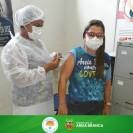 Vacinação contra a Covid-19 em Areia Branca