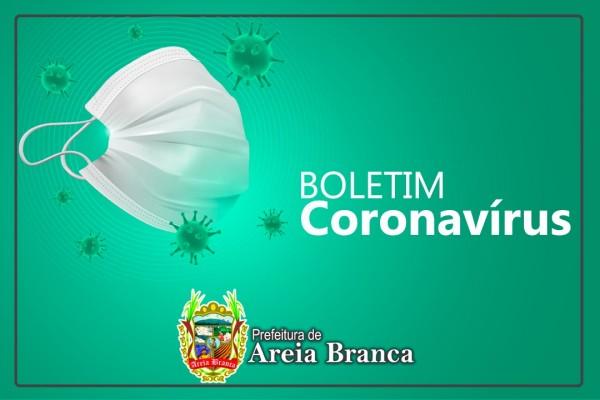 Boletim Novo Coronavírus (Covid -19) - Areia Branca, 24 de fevereiro 2020
